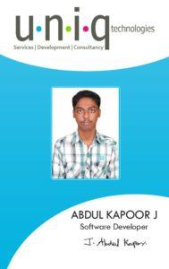 Kapoor_Carrer