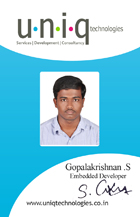 career gopalakrishnan