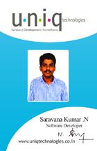 career saravanakumar