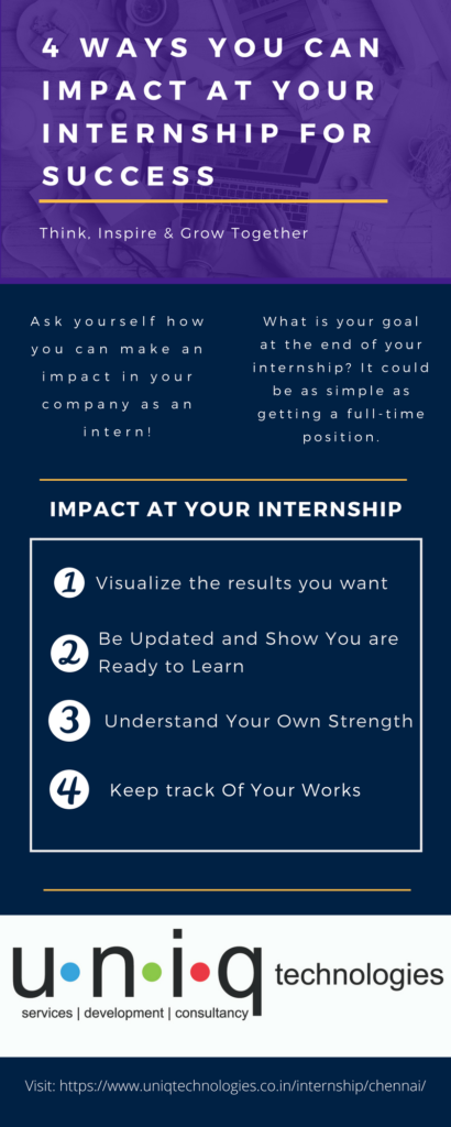 4 Ways You Can Impact at Your Internship