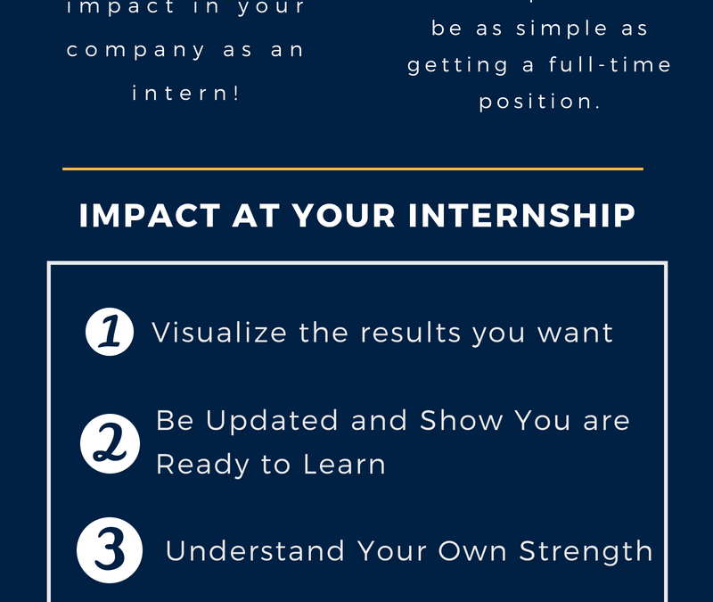 4 Ways You Can Impact at Your Internship For Success