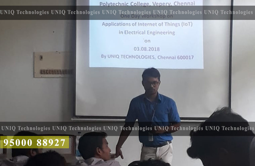 Workshop On Application of Internet of Things (IoT) in Electrical Engineering