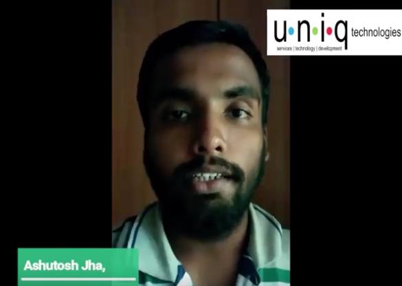 Internship in Bangalore – Ashutosh Jha Feedback