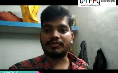 Embedded Internship in Coimbatore – Afsal Feedback